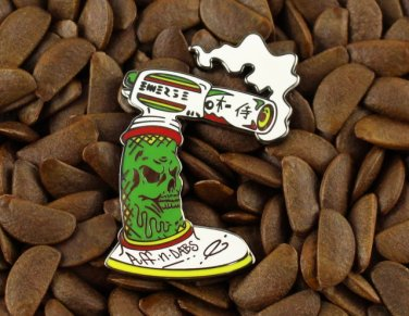 BHO Pins Rasta Torch Pin