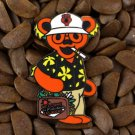 BHO Grateful Dead Bear Pins Dancing Duke Gonzo Fear & Loathing Las Vegas Pin