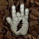 Grateful Dead Pins Jerry Garcia Hand Lighting Bolt Pin