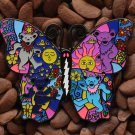 Grateful Dead Hat Pins Butterfly Bears Lighting Bolt Pin