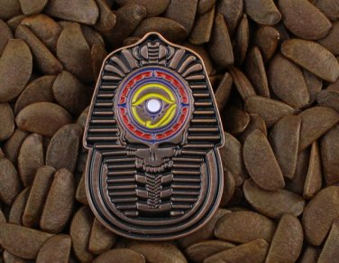 Grateful Dead Pins Steal Your Face Pharaoh King Tut Ankh Amun Egyptian Pin