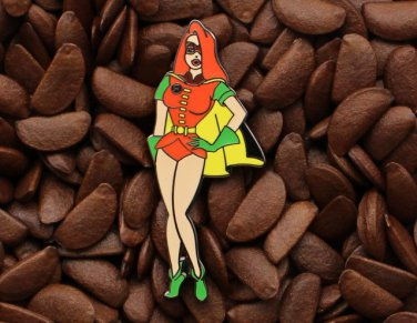 Jessica Rabbit Pins Fantasy Pin Batman Robin Batgirl Super Hero Badge