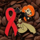 Red Ribbon Pins Kim Possible Pin