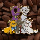 Purple Ribbon Pins The Aristocats Pin
