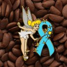 Blue Ribbon Pins Angel Tinkerbell Tinker Bell Pin