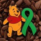 Green Ribbon Pins Winnie The Pooh Pin