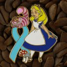 Blue Ribbon Pins Alice & Cheshire Cat Pin
