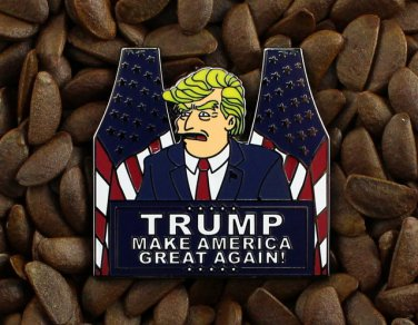 Donald Trump For President 2016 The Simpsons Pin