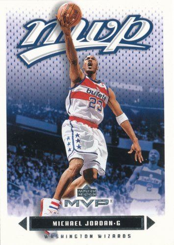 2003-04 Upper Deck MVP #190 Michael Jordan - NM-MT