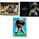 Hall of Fame Oakland Raiders Tim Brown football cards lot - $3 Free ship