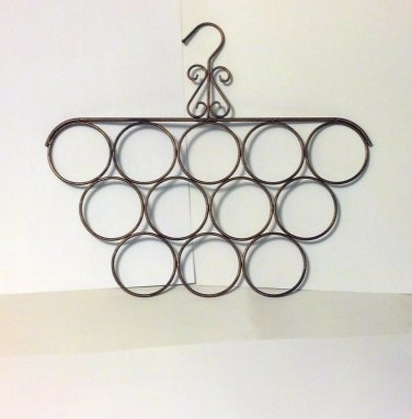 Scarf Hanger, Boutique Style, Bronze