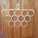 Scarf Hanger, Boutique Style, Ivory