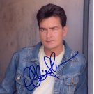 CHARLIE SHEEN  Signed Autograph 8x10 inch. Picture Photo REPRINT