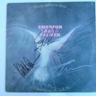 ELP Signed by ALL 3 Legendary EMERSON LAKE & PALMER Autographed LP + FREE Bonus!