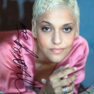 Gorgeous MARIZA FADO Signed Autograph 8x10 Picture Photo REPRINT