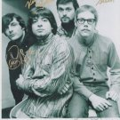 Original VANILLA FUDGE signed Iin person by 3 FOUNDERS 8x10  photo autograph