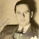 BEN LYON  Signed Autograph 8x10 inch. Picture Photo REPRINT