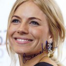 Gorgeous  SIENNA MILLER  Signed Autograph 8x10  Picture Photo REPRINT