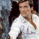 ROGER MOORE  Signed Autograph 8x10 inch. Picture Photo REPRINT