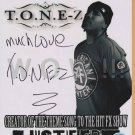 ORIGINAL  Rapper T.U.N.E-Z  8x10 Signed in Person Autograph Photo