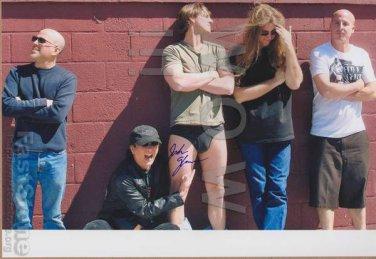 ORIGINAL JOSH GLEASON of K-2/Peter Gabriel Tribute  8x10 Signed  Autograph Photo
