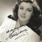 Gorgeous ESTHER  WILLIAMS Signed Autograph 8x10 inch. Picture Photo REPRINT