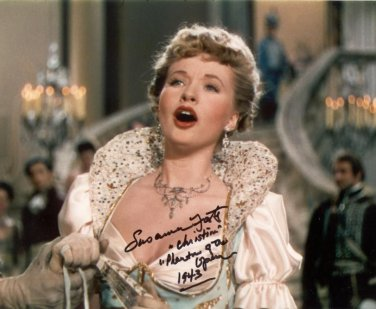 Gorgeous  SUSAN FOSTER  Signed Autograph 8x10  Picture Photo REPRINT