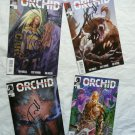 TOM MORELLO of AUDIOSLAVE Signed ORCHID Comic Books Set of ALL 4 + FREE Bonus!