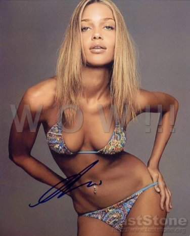 Gorgeous ANA BEATRIZ BARROS Signed Autograph 8x10 inch. Picture Photo REPRINT