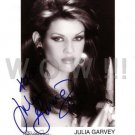 Gorgeous JULIA GARVEY Signed Autograph 8x10  Picture Photo REPRINT