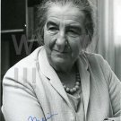 GOLDA MEIR Signed Autograph 5X7 inch. Picture Photo REPRINT