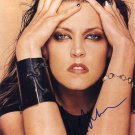 Gorgeous LISA MARIE PRESLEY Signed Autograph 8x10 Picture Photo REPRINT