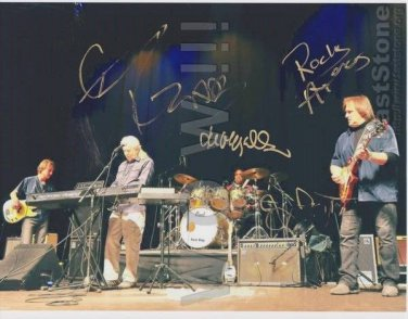 Original JOHN MAYALL Band 8x10 SiP by ALL 4 Autograph Photo Picture