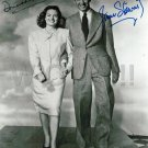 JAMES STEWART and  DONNA REED Signed Autograph 8x10 Picture Photo REPRINT