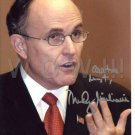 RUDY GIULIANI Signed Autograph 8x10 inch. Picture Photo REPRINT