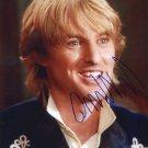 OWEN WILSON  Signed Autograph 8x10 inch. Picture Photo REPRINT