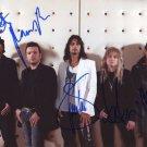 GOTTHARD+STEVE LEE  Signed Autograph 8x10  Picture Photo REPRINT