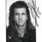 MEL GIBSON  Signed Autograph 8x10 inch. Picture Photo REPRINT