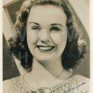 Gorgeous DEANNA DURBIN Signed Autograph 8x10 inch. Picture Photo REPRINT