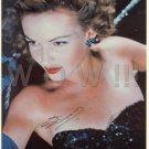 Gorgeous CYD CHARISSE Signed Autograph 8x10 inch. Picture Photo REPRINT