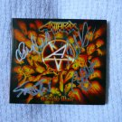 Original ANTHRAX CD *WARSHIP MUSIC* Autographed Signed by ALL 4 + FREE Bonus!