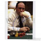 "JAMES GANDOLFINI of ""SOPRANOS"" Signed Autograph 8x10 inch. Picture Photo REPRINT"