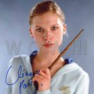 Gorgeous CLEMENCE POESY Signed Autograph 8x10 inch. Picture Photo REPRINT