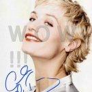 Gorgeous CECILE DE FRANCE Signed Autograph 8x10 inch. Picture Photo REPRINT