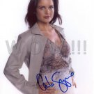 Gorgeous CARLA GUGINO Signed Autograph 8x10 inch. Picture Photo REPRINT