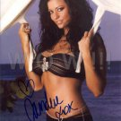 Gorgeous CANDICE MICHELLE Signed Autograph 8x10 inch. Picture Photo REPRINT