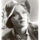 Gorgeous MARLENE DIETRICH Signed Autograph 8x10 Picture Photo REPRINT