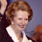 Gorgeous MARGARET THATCHER Signed Autograph 8x10 Picture Photo REPRINT