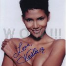 Gorgeous HALLE BERRY Signed  Autograph 8x10 in. Picture Photo REPRINT