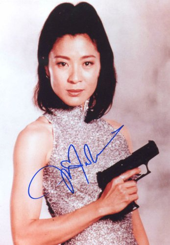 Gorgeous MICHELLE YEOH Signed Autograph 8x10 Picture Photo REPRINT